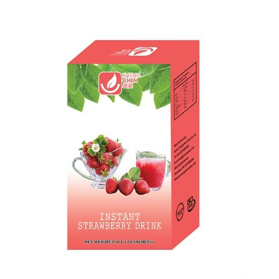Strawberry Flavored Instant Powder Drink