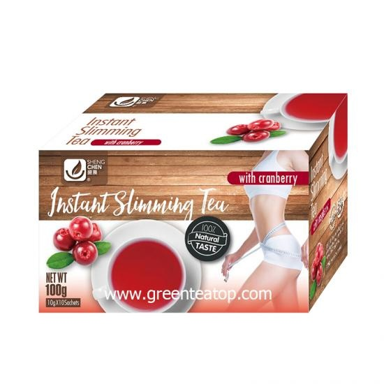 cranberry instant slimming tea